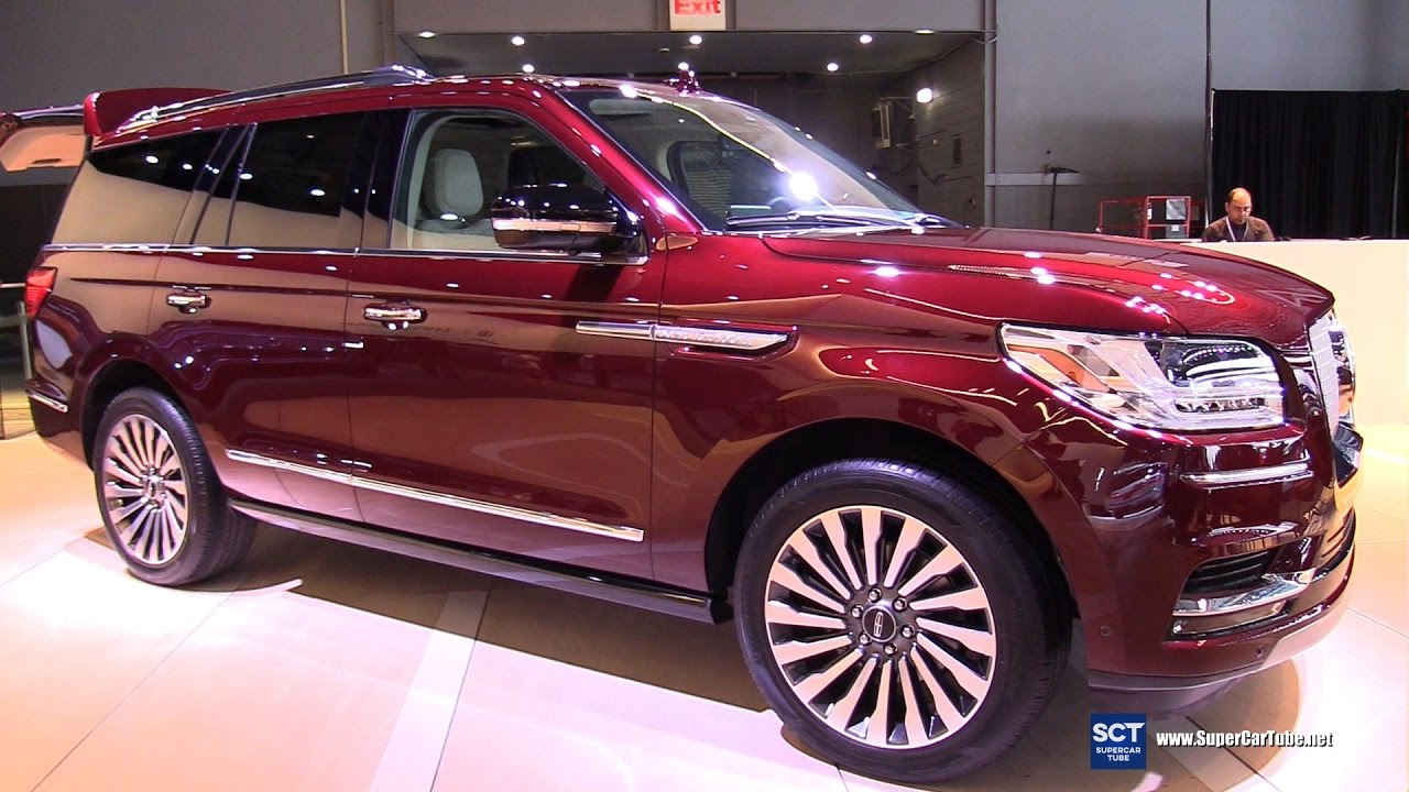 2018 Lincoln Navigator Exterior And Interior Walkaround Debut 2017 New York Auto Show