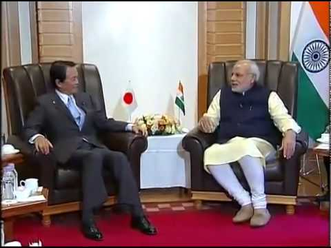 PM Modi meets Deputy Prime Minister & Finance Minister, Taro Aso, in Tokyo
