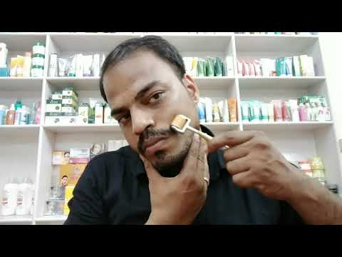 Derma roller || How to use || How to clean || Tamil review..