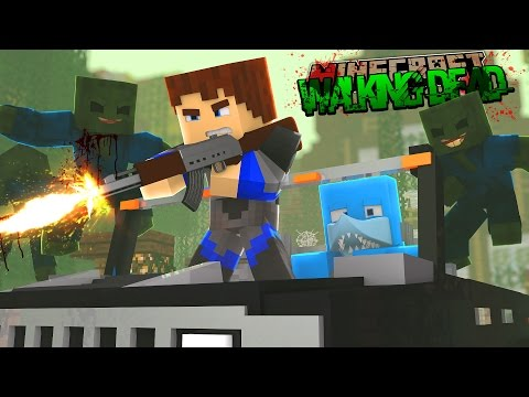 Minecraft THE WALKING DEAD - WE KILL THE GOVERNOR!!!
