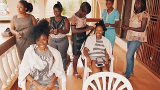 ghana 2015 vlog 9 getting my natural hair done