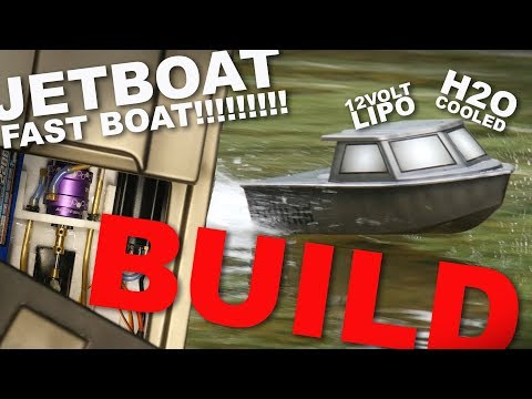 RC JETBOAT BUILD - WAYYY better than a NQD (PROPLESSRC)