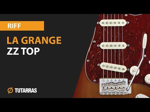 LA GRANGE - ZZ TOP en guitarra, como tocar el RIFF PRINCIPAL