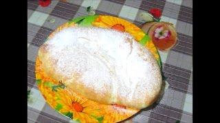Слоёный пирог с заварным кремом