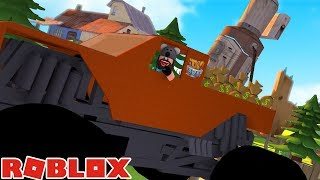1 MILLION ' MONSTER TRUCK!! | Jailbreak | ROBLOX
