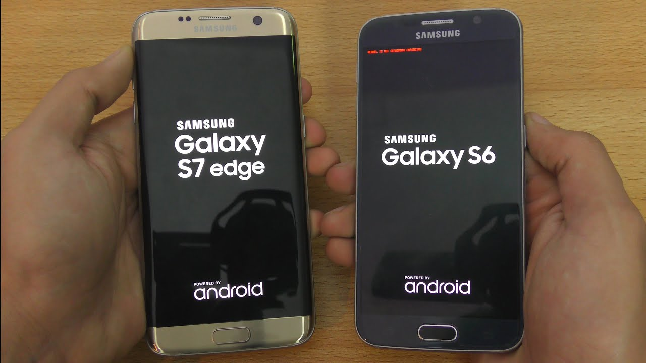 Samsung Galaxy S7 Edge Vs Galaxy S6