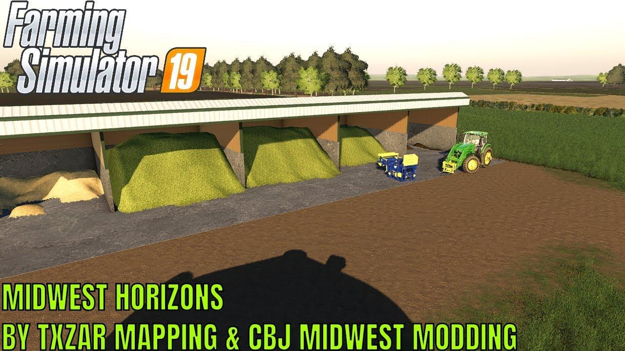 FS19 - Beta Midwest Horizon Map by Txzar Mapping & CBJ