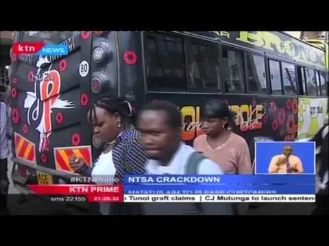 Interview with NTSA Director Francis Meja and Matatu Owners Association chairman Simon Kimutai