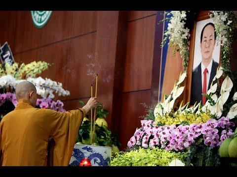 """H é l/ ộ lý do vì sao t ổ chức Quốc tag """"muộn""""? cho chủ tịch nc Trần Đại Quang"""