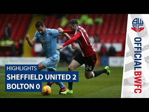 HIGHLIGHTS | Sheffield United 2-0 Bolton