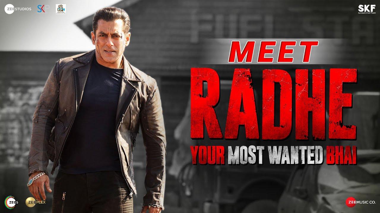 Meet Radhe: Your Most Wanted Bhai | Salman Khan | Prabhu Deva | 13th May