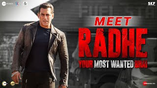 Meet Radhe: Your Most Wanted Bhai | Salman Khan | Prabhu Deva | 13th May