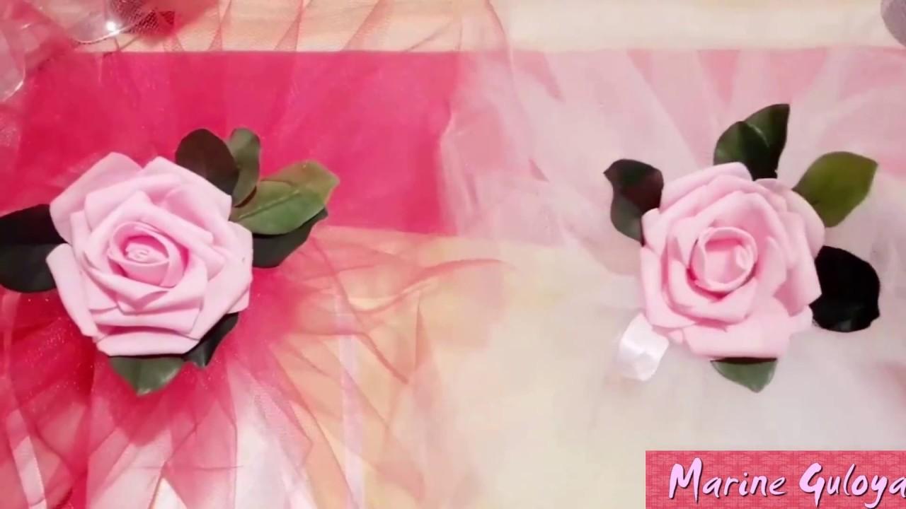 Свадебные ленты на машину wedstyle - YouTube