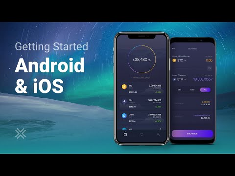 How To Set Up A Crypto Wallet On Mobile (Exodus Wallet)