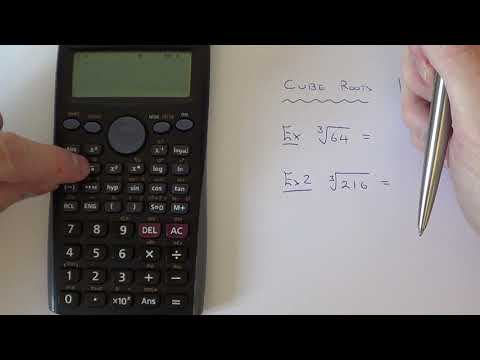 How To Cube Root A Number On A Casio Scientific Calculator