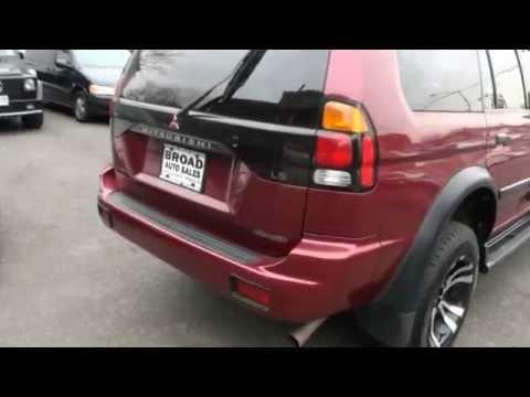 2001 Mitsubishi Montero Sport LS V6 4WD