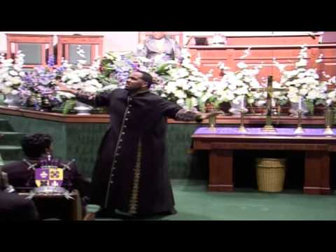 Minister Ray Talley ministers