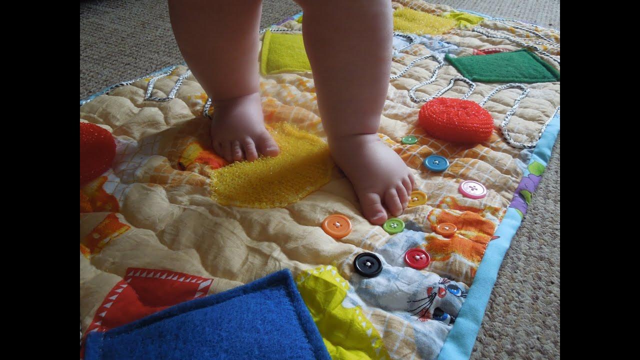 Массажные коврики своими руками для детей 32