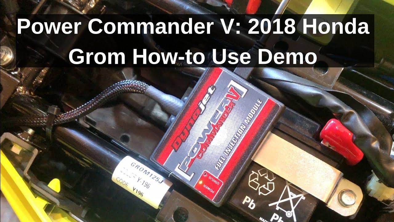 2018 Honda GROM Build Series: Power Commander V (PCV) How-to