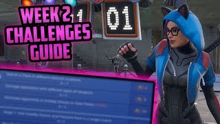 Season 7, Week 2 | Fortnite Week 2 Challenges Easy Guide (Week 2 Battle Pass) - Fortnite