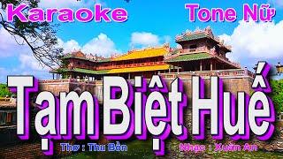 Nhạc Trữ Tình Quê Hương Lay Động Triệu Con Tim Hay Nhất - BEAT Tạm Biệt Huế Karaoke ( ĐÔ Trưởng )