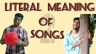 Literal Meaning of Songs 2| Fun Flicks |