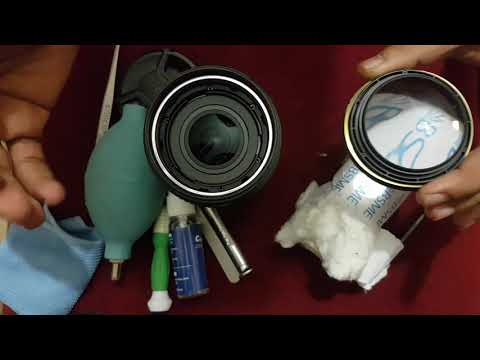 Cleaning fungus of nikon 18-140 VR lens