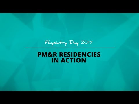 PM&R Residencies in Action