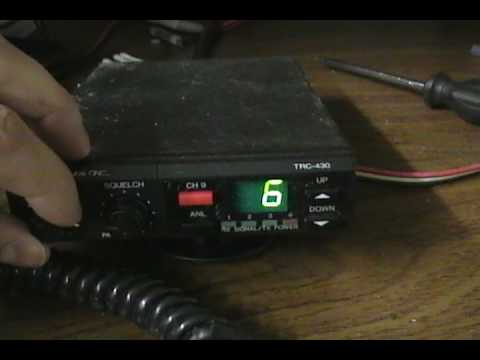 Realistic TRC-430 by Radio Shack CB Radio - Overview and modulation