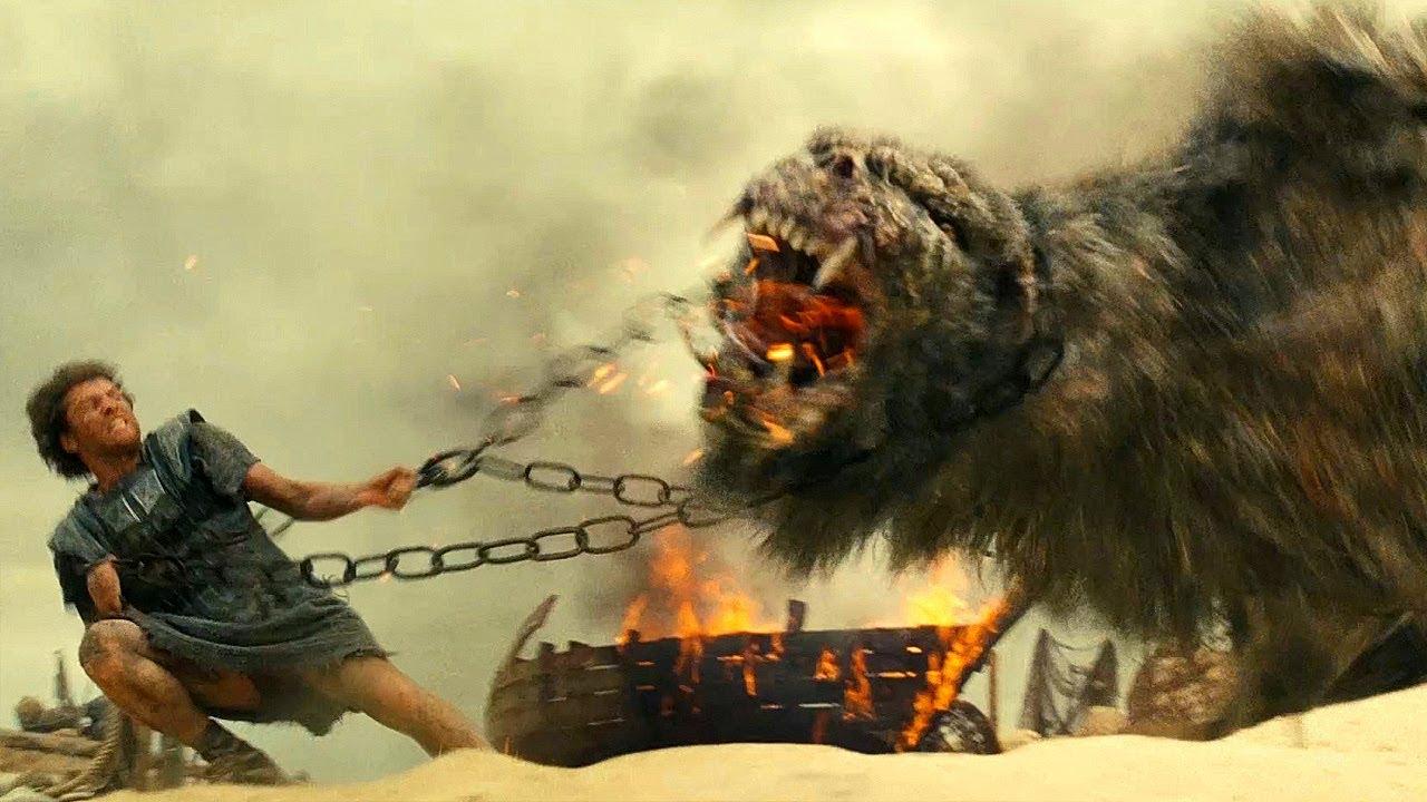 Perseus vs Chimera - Fight Scene - Wrath of the Titans ...