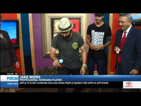 Kendama USA on the Great Day Show in Fresno California - Part 1