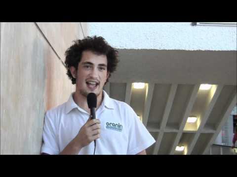 Max Haber experiences volunteering on Kibbutz Kfar Masaryk, Israel