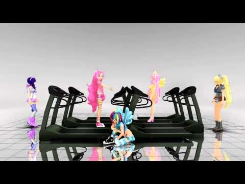 [MMD] Here It Goes Again - [My Little Pony]
