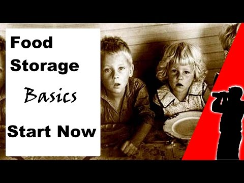 Basic Food Storage Principles