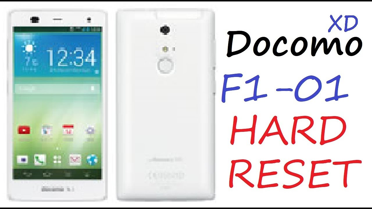 How to Hard Reset Docomo F1 01 Mobile Security Lock   YouTube