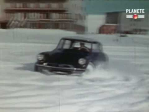 1956 Citron Ds19 Snow Driving Youtube