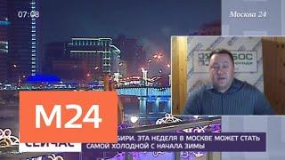 Смотреть видео Синоптики предупредили о наступлении холодов в столице - Москва 24 онлайн