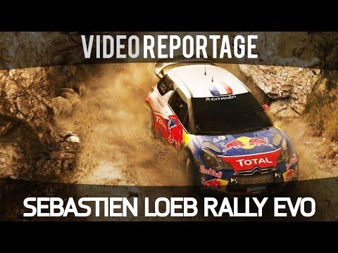 Sebastien Loeb Rally Evo  - Intervista a Sebastien Loeb e reportage