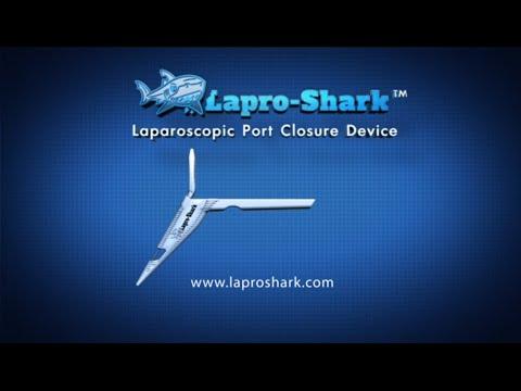 Lapro-Shark™ - Laparoscopic Port Site Closure Device - Instructional Video