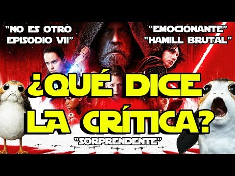 ¿LA CRÍTICA? : !!! SORPRENDENTE STAR WARS VIII - THE LAST JEDI - ÚLTIMOS JEDI - REACTION - SKYWALKER