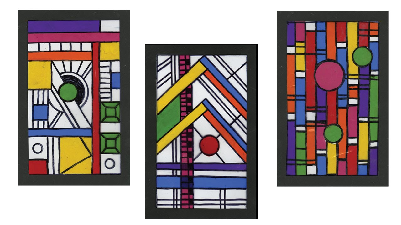 frank lloyd wright inspired stained glass project 198 youtube. Black Bedroom Furniture Sets. Home Design Ideas
