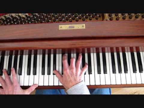 Jazz piano lesson, A Sleeping Bee-Piano Riff mp3