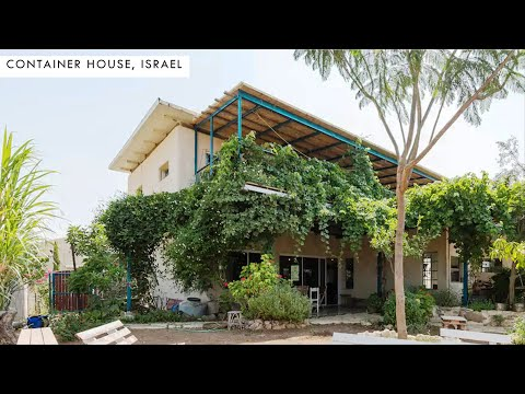 Israeli Musician Transforms 4 Containers into Amazing Home in Jerusalem