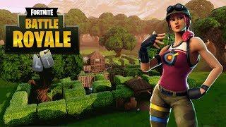 Fortnite Battle Royale! - Bullseye Skin Gameplay