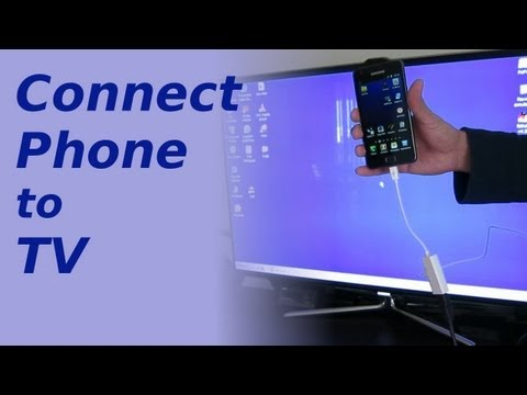 How to connect your Mobile Phone to TV for Karaoke