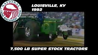 1992 nfms louisville ky 7500 lb super stock tractors