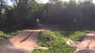 Deity Cryptkeeper BMX track session