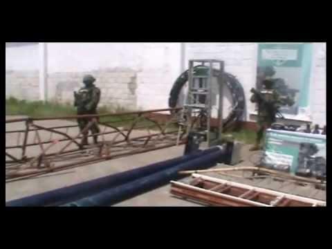 "RAW VIDEO: ""Narco"" Radio Tower Seized in Veracruz"