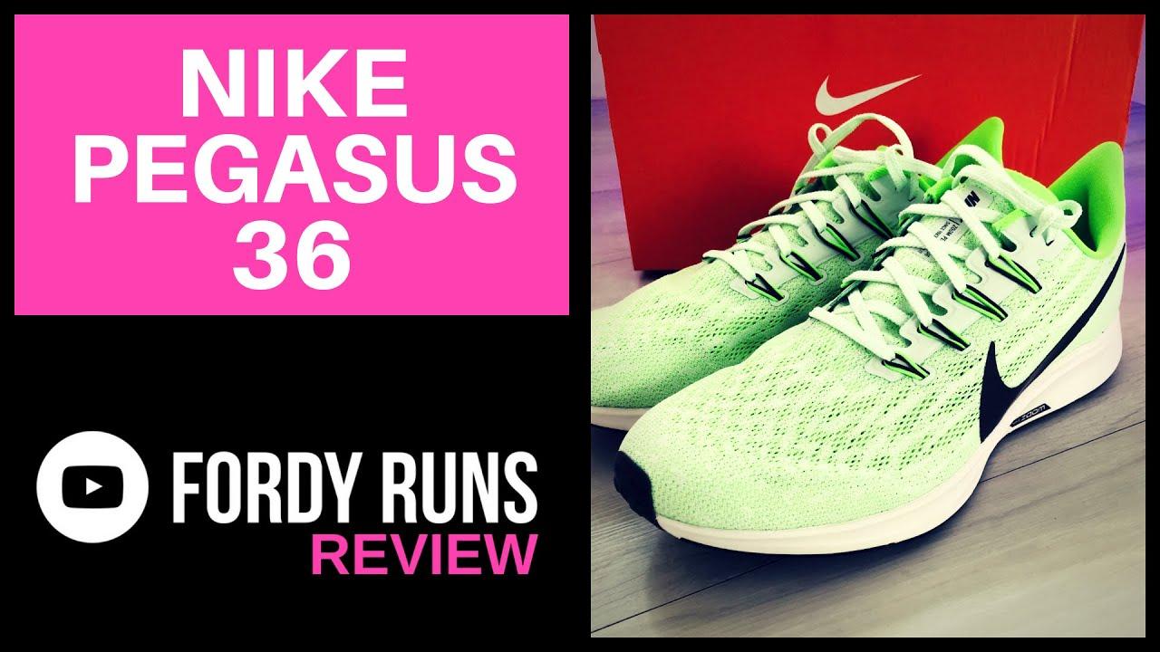 1e2d8dc93 Nike Zoom Air Pegasus 36 Review (2019) - YouTube