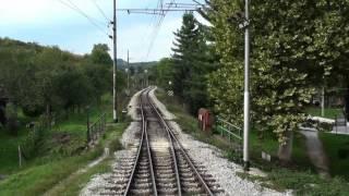 Train cab ride speed up, Moravice - Zagreb (Croatia), 139km in 19min